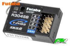 Futaba - R304SB - Receiver - Telemetry - 2.4GHz - 4-Channel - T-FHSS