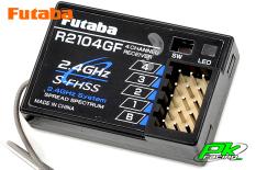 Futaba - R2104GF - Receiver - 2.4GHz - 4-Channel - S-FHSS