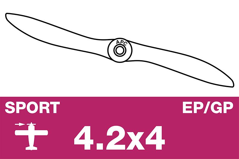 APC - Sport Propeller - EP/GP - 4.2X4