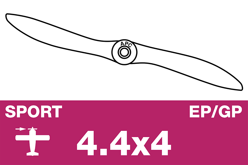 APC - Sport Propeller - EP/GP - 4.4X4