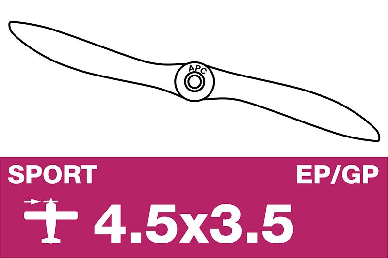 APC - Sport Propeller - EP/GP - 4.5X3.5