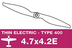 APC - Electro Propeller - Class 400 - 4.7X4.2E