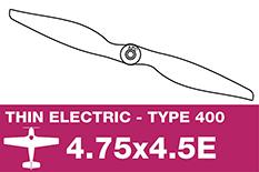 APC - Electro Propeller - Class 400 - 4.75X4.5E