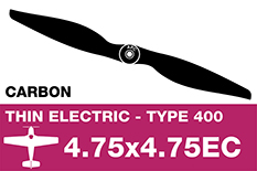 APC - Electro Propeller - Class 400 - Carbon - 4.75X4.75EC
