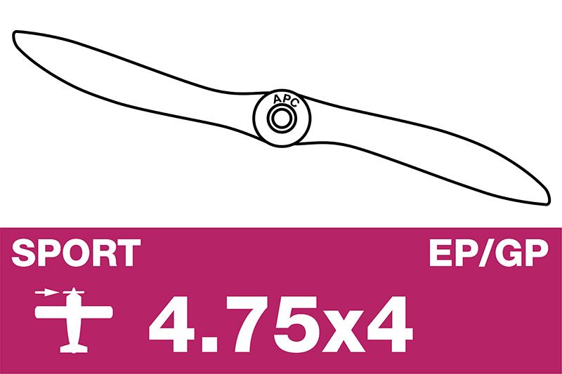 APC - Sport Propeller - EP/GP - 4.75X4