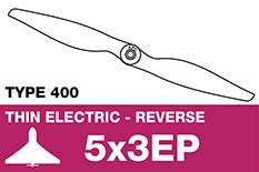 APC - Electro Propeller - Class 400 - Pusher / CCW - 5X3EP