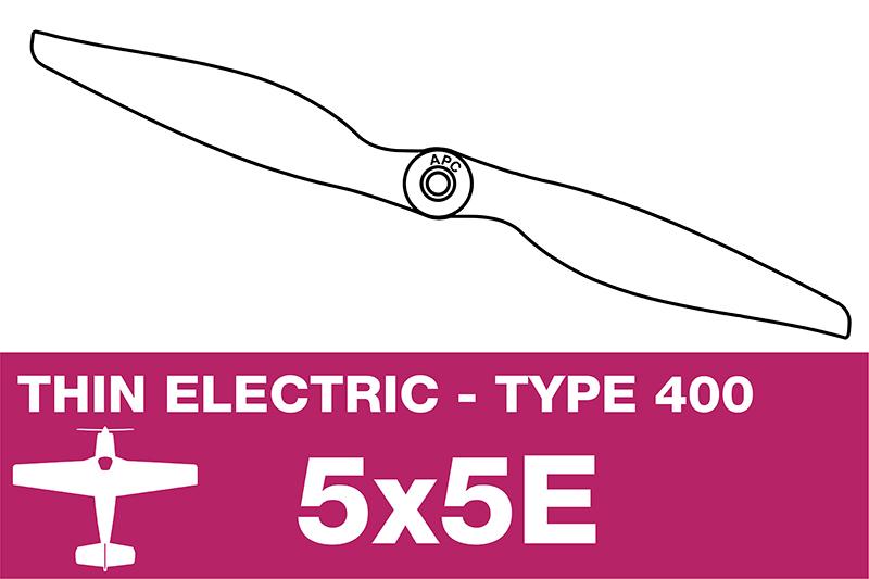 APC - Electro Propeller - Class 400 - 5X5E
