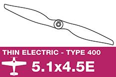 APC - Electro Propeller - Class 400 - 5.1X4.5E
