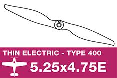 APC - Electro Propeller - Class 400 - 5.25X4.75E