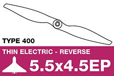 APC - Electro Propeller - Class 400 - Pusher / CCW - 5.5X4.5EP