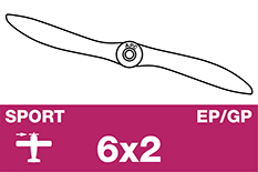 APC - Sport Propeller - EP/GP - 6X2