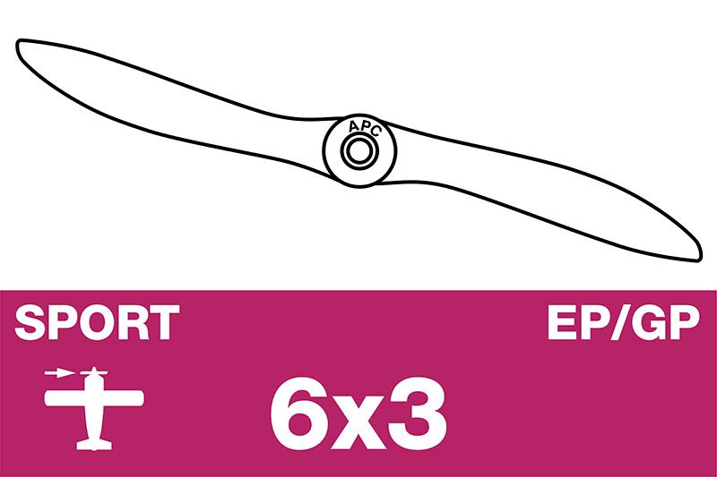 APC - Sport Propeller - EP/GP - 6X3