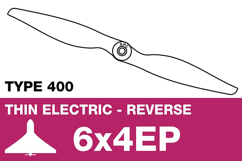 APC - Electro Propeller - Thin - Pusher / CCW - 6X4EP