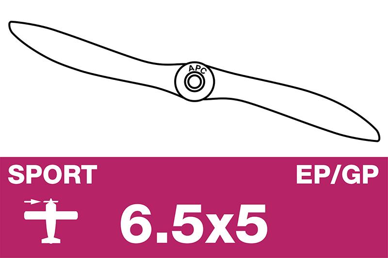 APC - Sport Propeller - EP/GP - 6.5X5.0