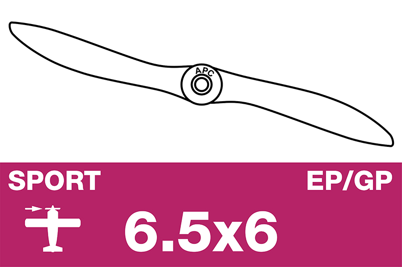 APC - Sport Propeller - EP/GP - 6.5X6.0