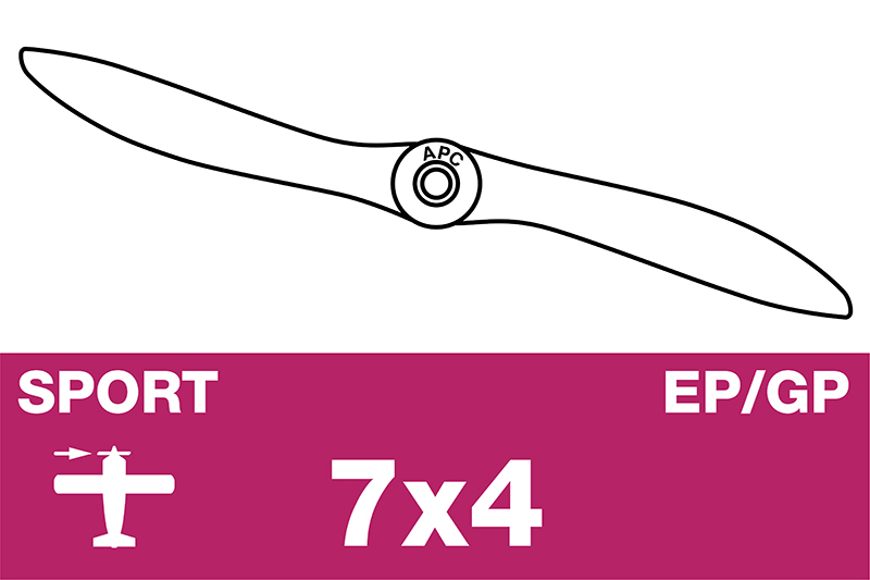 APC - Sport Propeller - EP/GP - 7X4