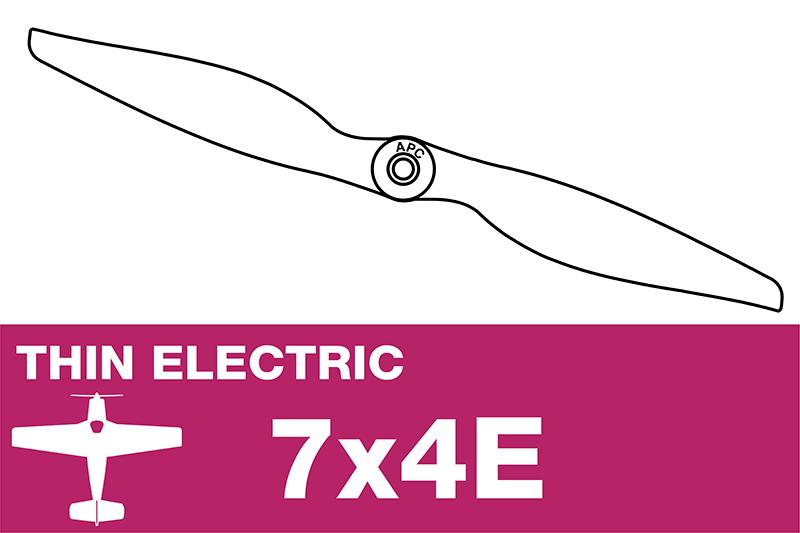 APC - Electro Propeller - Thin - 7X4E
