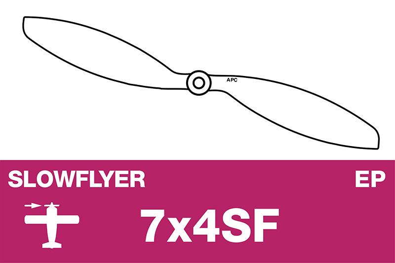 APC - SLOWFLYER Propeller - 7X4SF
