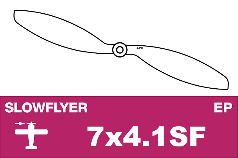 APC - SLOWFLYER Propeller - 7X4.1SF