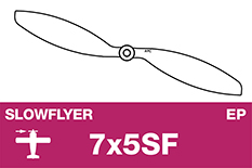APC - SLOWFLYER Propeller - 7X5SF