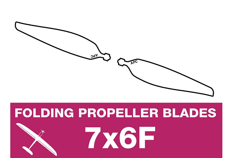APC - Folding Electric Propeller Blades - 7X6F