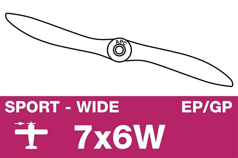 APC - Sport Propeller - EP/GP - 7X6W