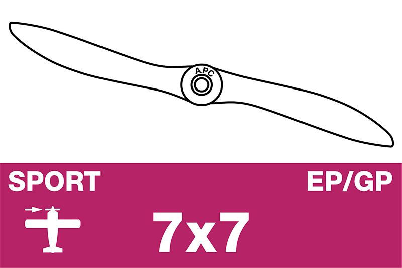 APC - Sport Propeller - EP/GP - 7X7