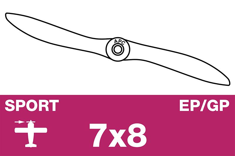 APC - Sport Propeller - EP/GP - 7X8