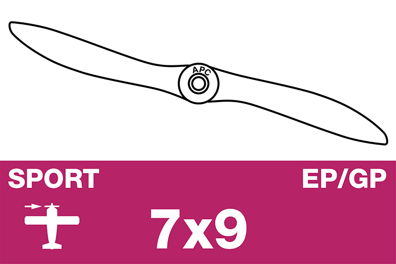 APC - Sport Propeller - EP/GP - 7X9