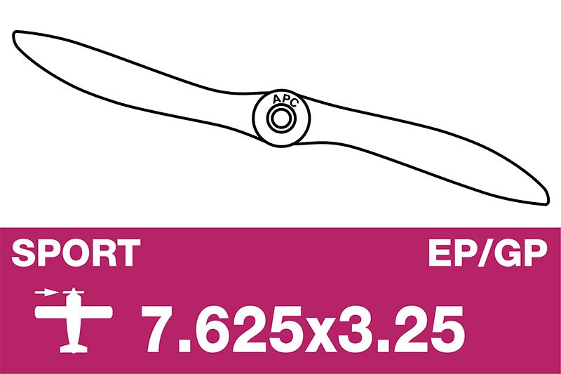 APC - Sport Propeller - EP/GP - 7.625X3.25