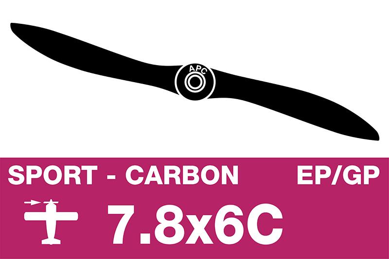 APC - Sport Propeller - Carbon - EP/GP - 7.8X6C