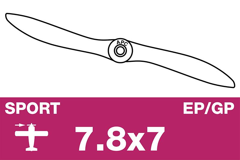 APC - Sport Propeller - EP/GP - 7.8X7