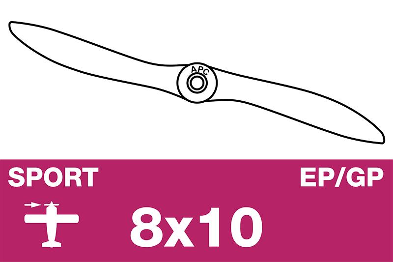 APC - Sport Propeller - EP/GP - 8X10