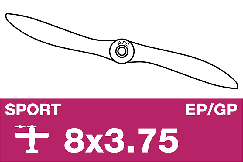 APC - Sport Propeller - EP/GP - 8X3.75