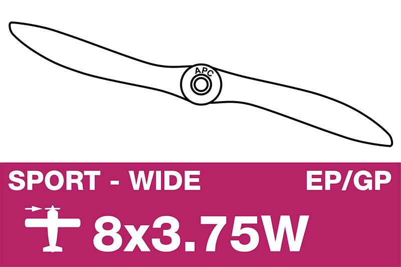 APC - Sport Propeller - EP/GP - 8X3.75W