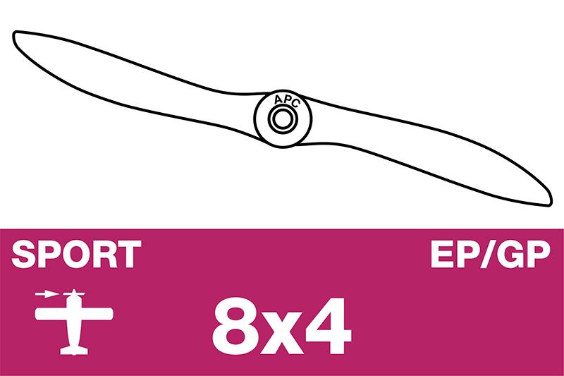 APC - Sport Propeller - EP/GP - 8X4