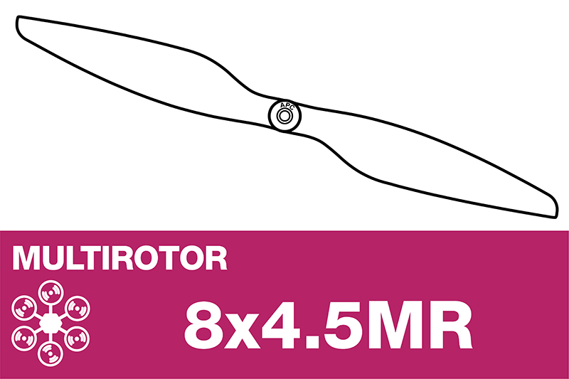 APC - MULTI ROTOR Propeller - 8X4.5MR