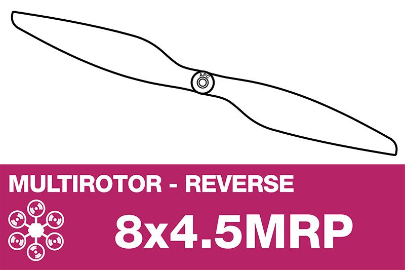 APC - MULTI ROTOR Propeller - Pusher / CCW - 8X4.5MRP