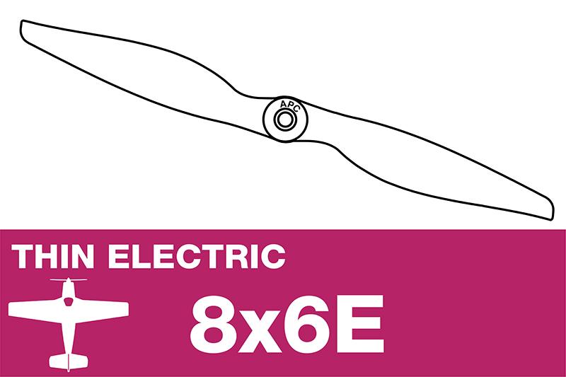 APC - Electro Propeller - Thin - 8X6E