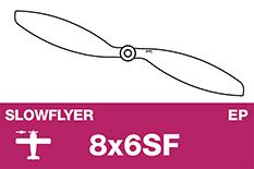 APC - SLOWFLYER Propeller - 8X6SF