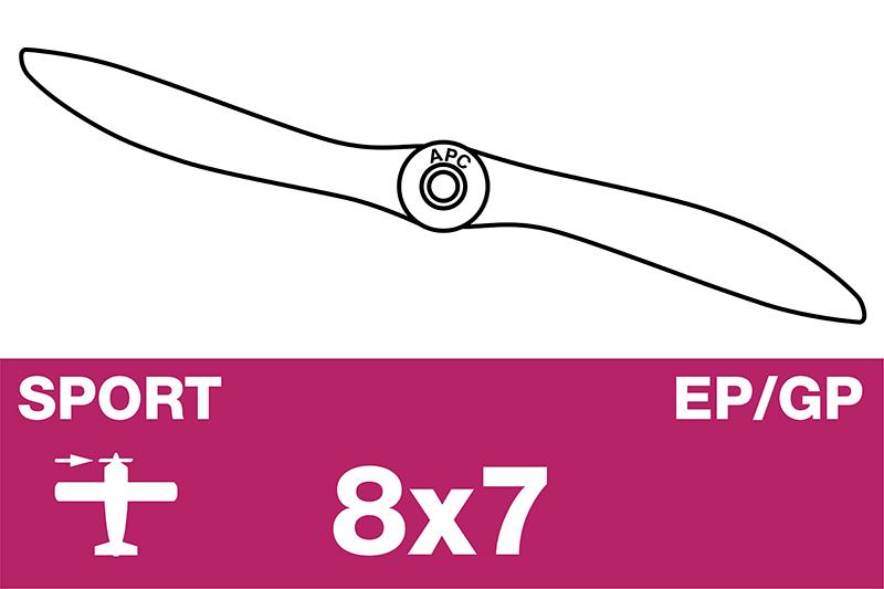 APC - Sport Propeller - EP/GP - 8X7