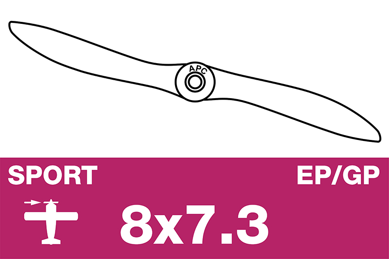 APC - Sport Propeller - EP/GP - 8X7.3