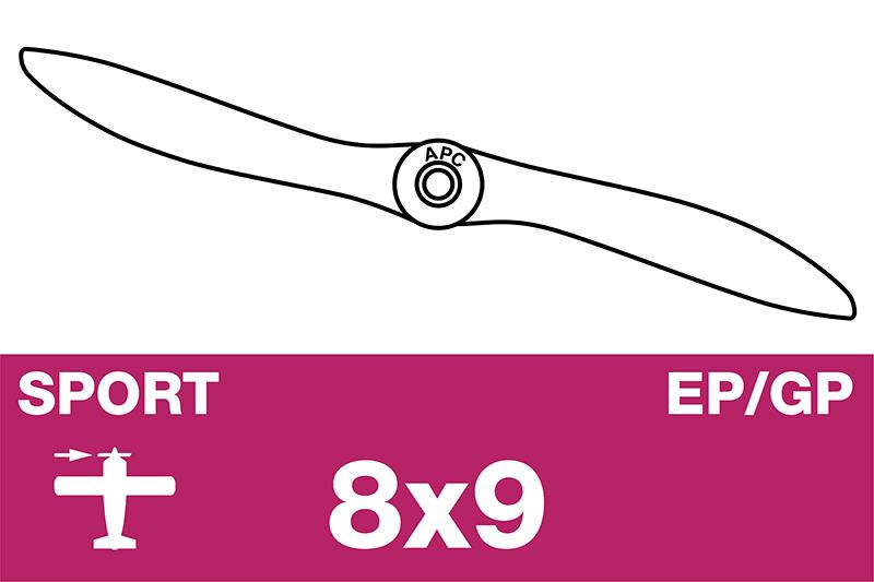 APC - Sport Propeller - EP/GP - 8X9