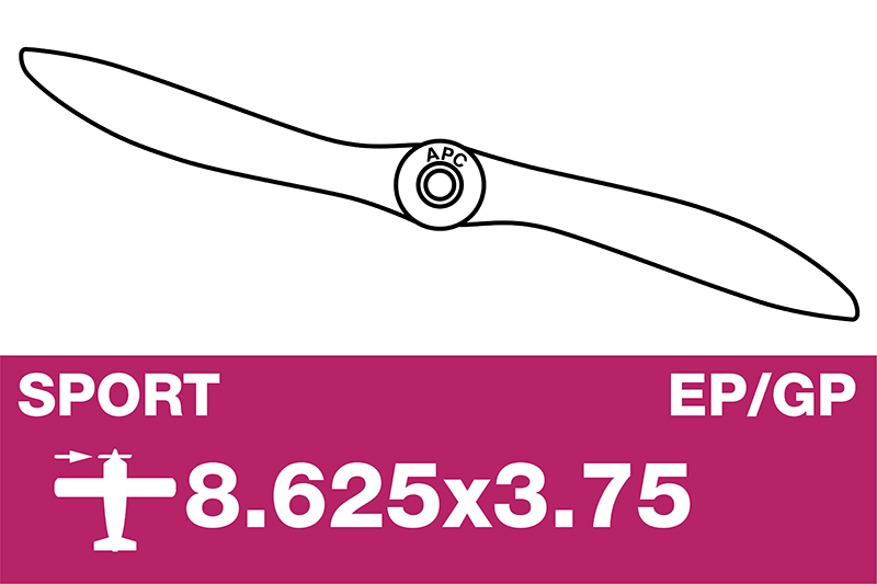 APC - Sport Propeller - EP/GP - 8.625X3.75