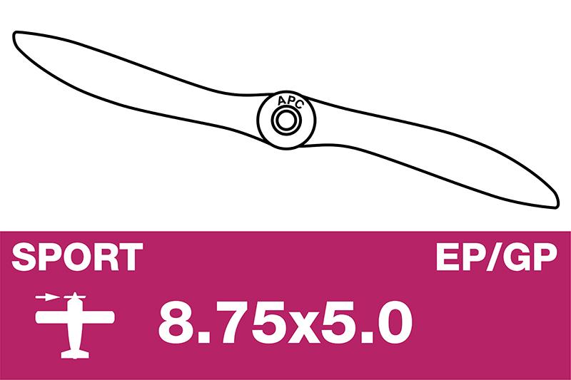 APC - Sport Propeller - EP/GP - 8.75X5.0