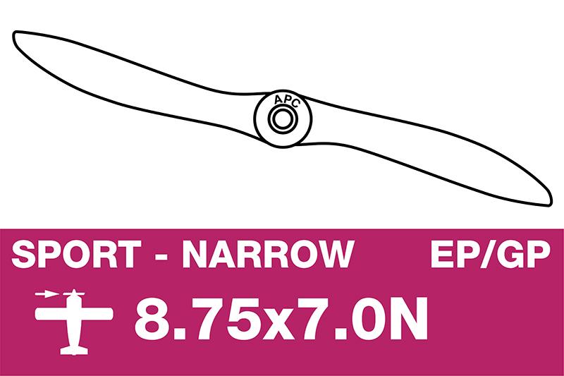 APC - Sport Propeller - Thin - EP/GP - 8.75X7.0N