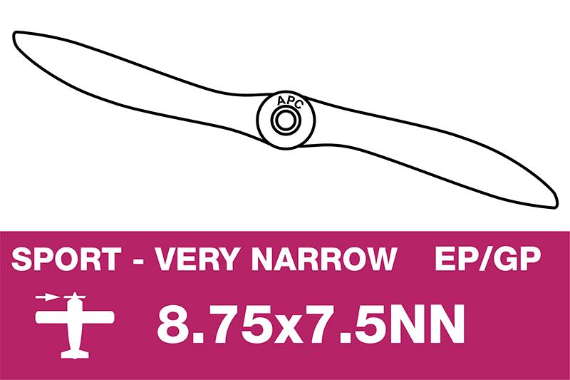 APC - Sport Propeller - Thin - EP/GP - 8.75X7.5NN