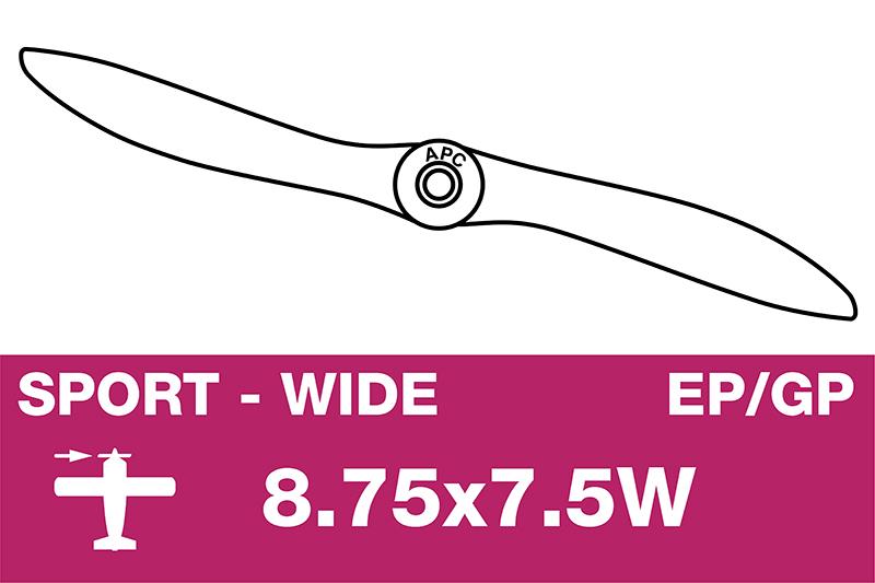 APC - Sport Propeller - EP/GP - 8.75X7.5W