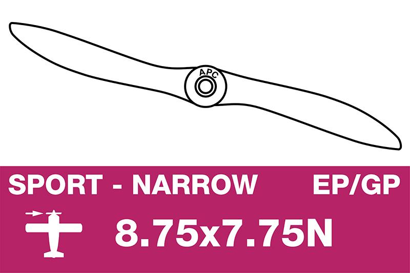 APC - Sport Propeller - Thin - EP/GP - 8.75X7.75N