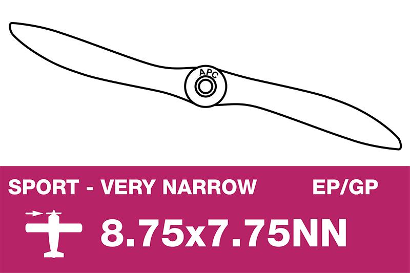 APC - Sport Propeller - Thin - EP/GP - 8.75X7.75NN